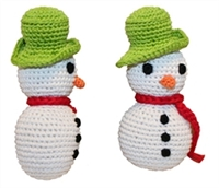 Holiday Knitknacks Frost Dog Toy