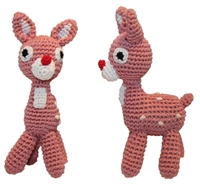 Holiday Knitknacks Rudy Dog Toy