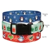 Holly Jolly Dog Collar & Lead Sets