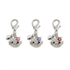 Kitty D Ring Collar Charm
