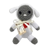 Knit Knacks Fleece The Lamb Dog Toy