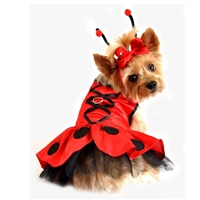 Lady Bug Fairy Dog Costume Harness