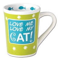 Love Me, Love My Cat Mug