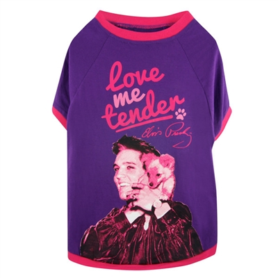 Love Me Tender Dog Tee