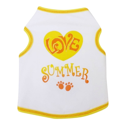 Love Summer Dog Tank