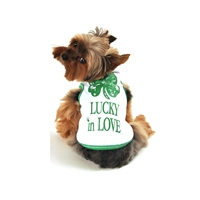 Lucky In Love Dog Tank