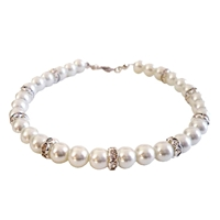Luxe Pearl Dog Necklace