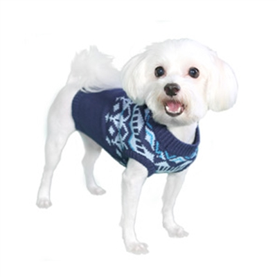 Mason Dog Sweater-Blue