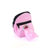 POOCH POUCH - PINK Backpack Dispenser & Biodegradable Waste Pick-Up Bags