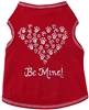 Paw Heart Be Mine Dog Tank