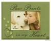 "Paw Prints On My Heart 7""x9"" Picture Frame"