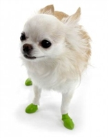 PawZ Dog Boots 12 pk-Tiny Lt Green