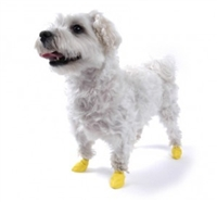 PawZ Dog Boots 12 pk-XX-Small Yellow