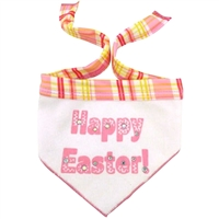 Pink Happy Easter Scarf