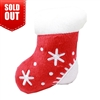 Plush Christmas Dog Toy-Red Stocking