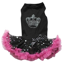 Princess Crown Petti Dog Dress