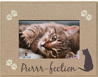 "Purrfection 7""x9"" Picture Frame"