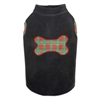 Radiant Tartan Fleece Vest-Black