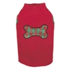 Radiant Tartan Fleece Vest-Red