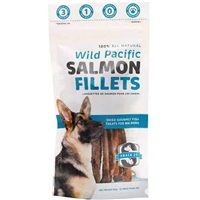 Snack 21 Wild Pacific Salmon Fillets for Big Dogs
