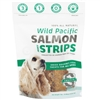 Snack 21 Wild Pacific Salmon Jerky Strips for Dogs