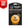 Spunky Pup Fetch & Glow Ball-Medium
