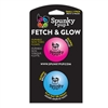 Spunky Pup Fetch & Glow Ball-Small 2 pk