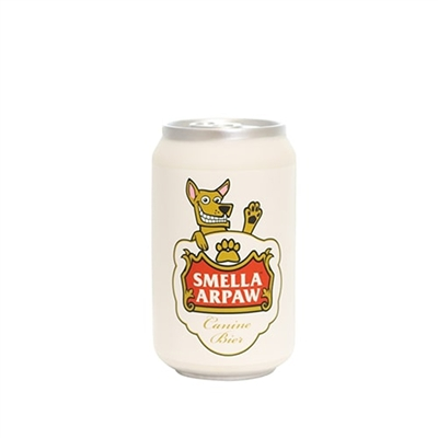 Silly Squeakers Beer Can-Smella Arpaw Dog Toy