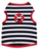 Sailor Stripe Dog Tank