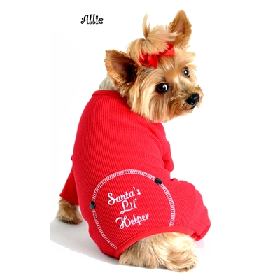 Santa's Lil' Helper Dog Pajama
