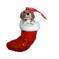 Santa's Little Pals Beagle Ornament