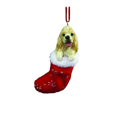 Santa's Little Pals Cocker Spaniel Ornament