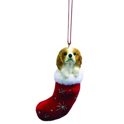 Santa's Little Pals King Charles Cavalier Ornament