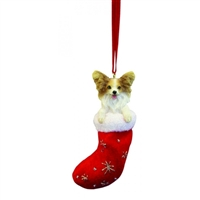 Santa's Little Pals Papillon Ornament