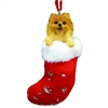 Santa's Little Pals Pomeranian Ornament
