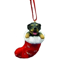Santa's Little Pals Rottweiler Ornament