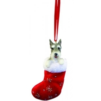 Santa's Little Pals Schnauzer Ornament