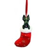 Santa's Little Pals Scottish Terrier Ornament