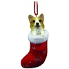 Santa's Little Pals Welsh Corgi Ornament