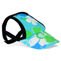 Playa Pup Sun Protective Dog Visor-Female