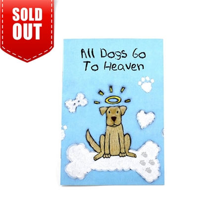 Sympathy-All Dogs Go To Heaven Booklet