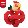 Talking Mini Red Rooster Dog Toy
