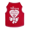 This Dog Loves Christmas Dog Tank