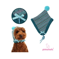Twilight Dog Hat-Aqua