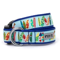 The Worthy Dog Surf's Up Dog Collar