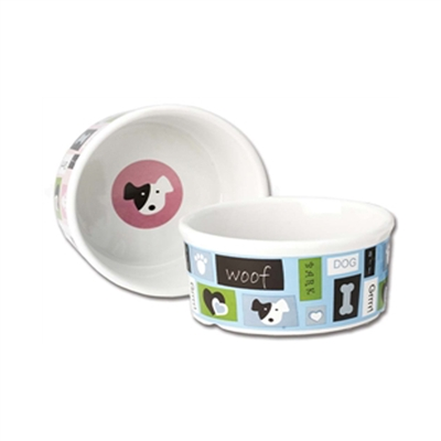 Woof Flair Dog Bowl