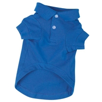 Zack & Zoey Dog Polo Shirt-Nautical Blue
