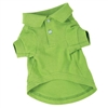 Zack & Zoey Dog Polo Shirt-Parrot Green