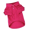 Zack & Zoey Dog Polo Shirt-Raspberry Sorbet