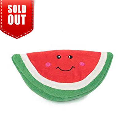 Zippy Paws NomNomz Watermelon Dog Toy